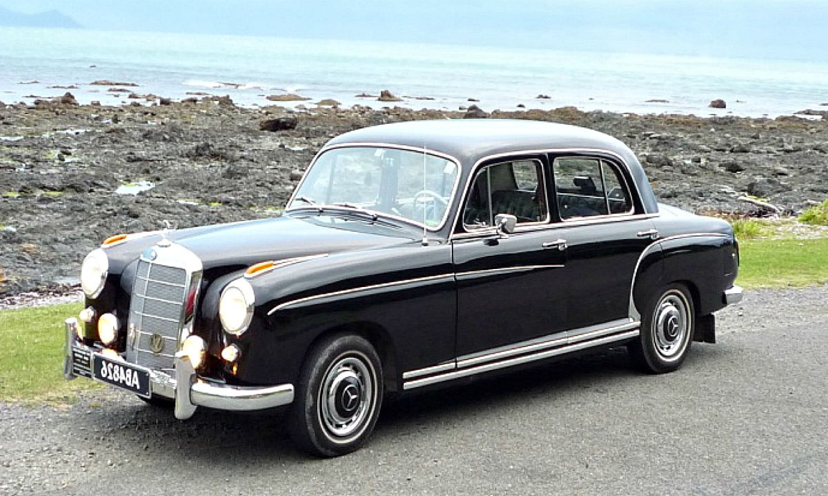 Mercedes Replacement Parts >> Mercedes 220S Ponton - Classic Strider